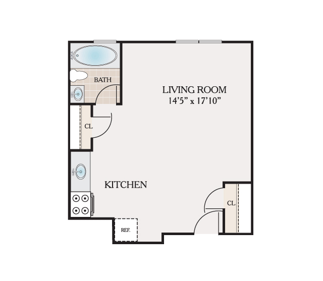 Floor plans placid gardens apartments for rent in 250 square foot apartment floor plan