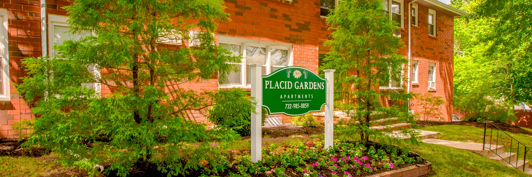 Placid Gardens Apartments For Rent in Highland Park, NJ Welcome