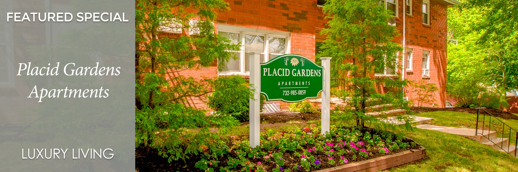 Placid Gardens Apartments For Rent in Highland Park, NJ Specials